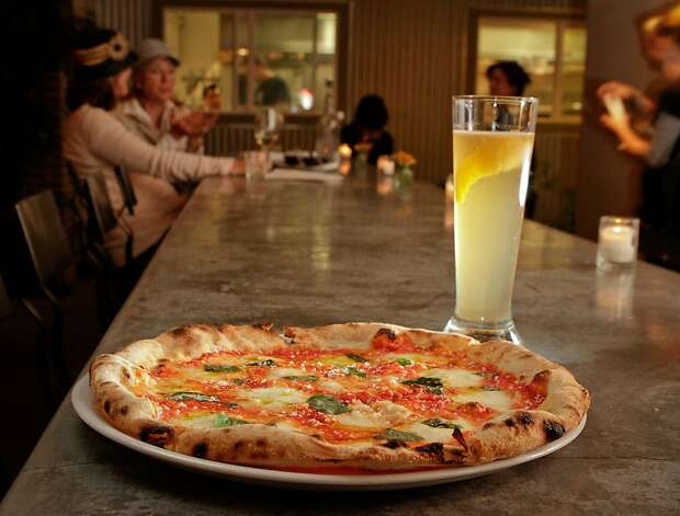 The classic Margherita with La Biretta cocktail is a wining combo at Campo Fina in Healdsburg. Photo: John Storey, Special To The Chronicle