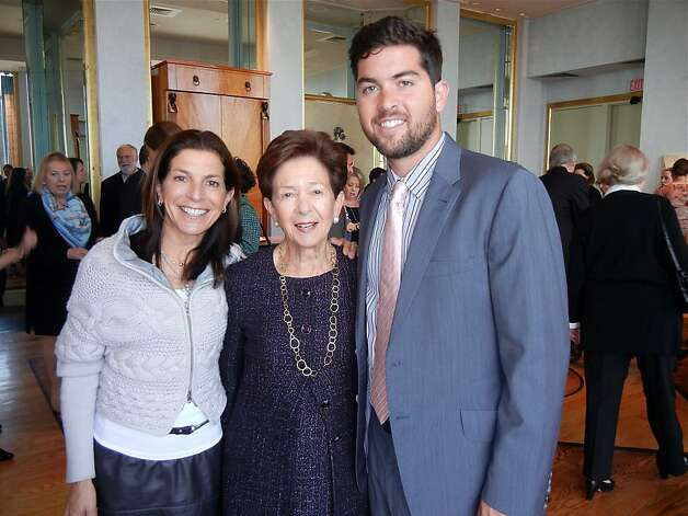 Susan Swig Watkins (left) with her mom, Cissie Swig, and son, Harrison Swig Watkins, at the Museum of Performance & Design's Arts Medallion ceremony. Photo: Catherine Bigelow, Special To The Chronicle