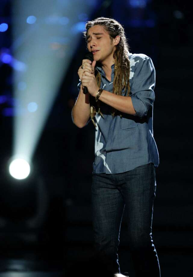 """Jason Castro performs during the finale of 2008's """"American Idol"""" season. Photo: Mark Mainz, AP Images For Fox / FXXTV Fox"""