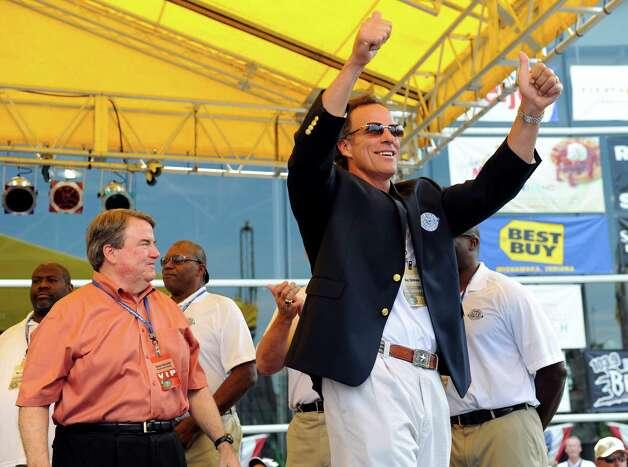 Ray Childress is an ex-Houston Oiler.  Photo: Joe Raymond, Associated Press / Joe R. Raymond