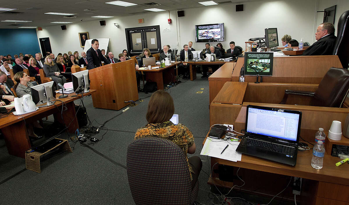 Lawyers launched a school finance trial involving about two-thirds of Texas' school districts in October.