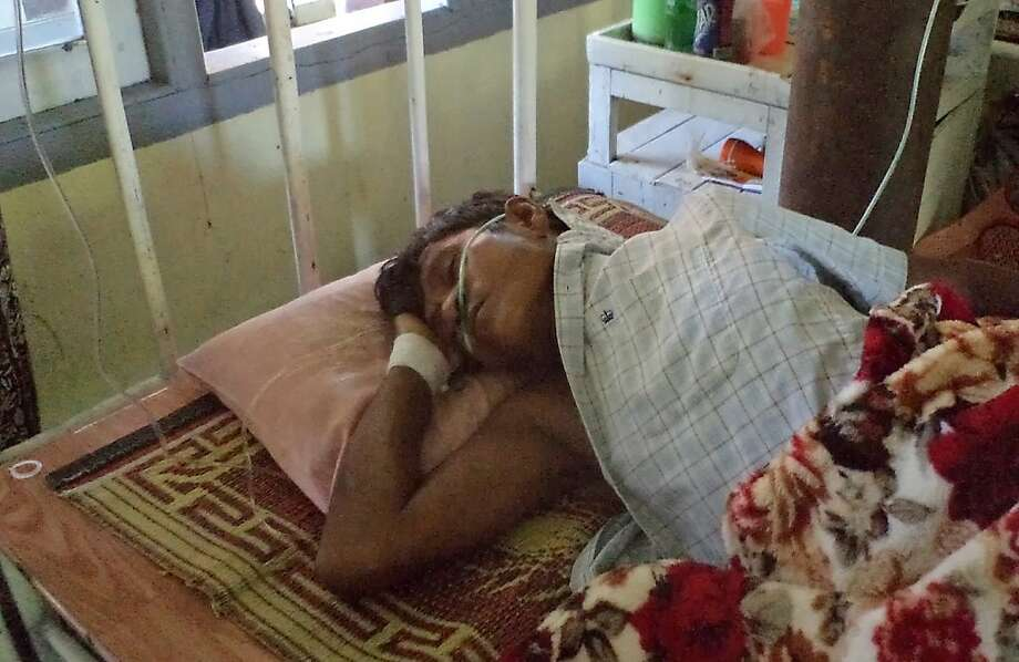 A man recovers at a hospital in Sittwe, Burma, from injuries he sustained in a Buddhist-Muslim clash. Photo: Afp, AFP/Getty Images