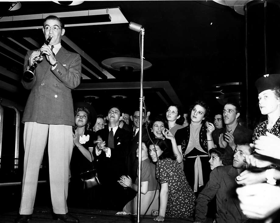 Big-band leader and clarinetist Benny Goodman worked on the concerto Aaron Copland  wrote for him for three years before performing it in public. Photo: AP