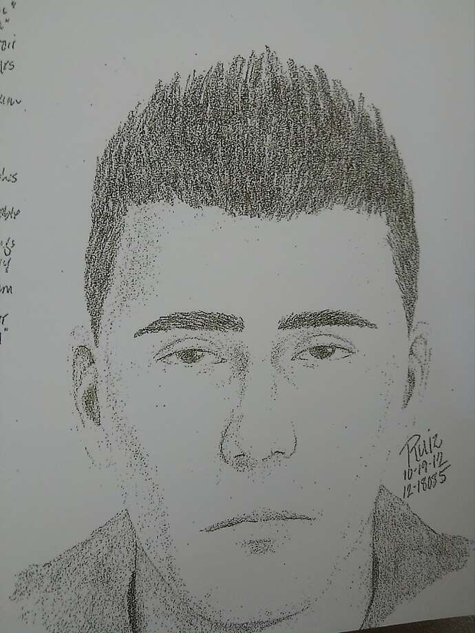Police sketch of a suspect. Photo: Alameda County Sheriff's Office