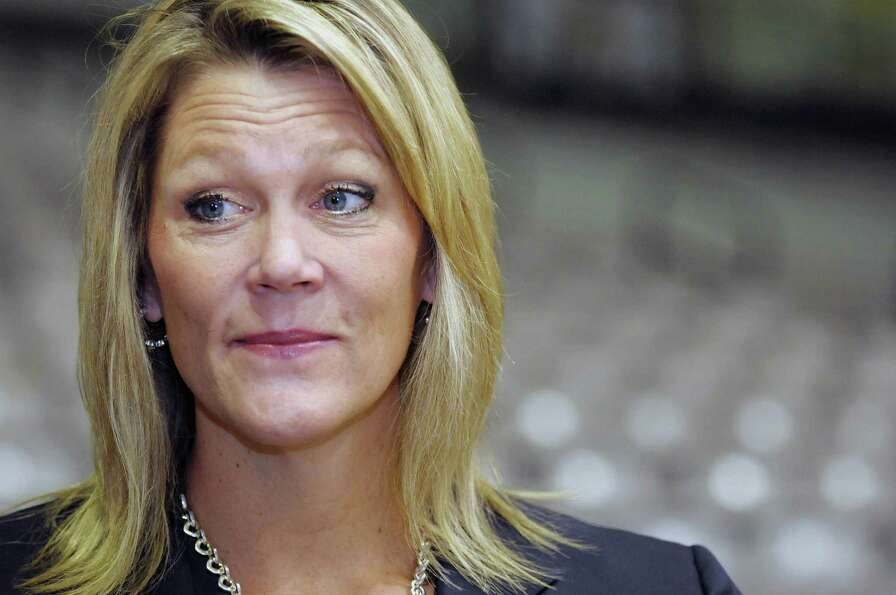Katie Abrahamson-Henderson, the UAlbany women's basketball coach, talks about the upcoming season du
