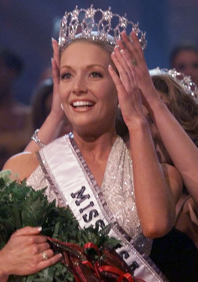 Kandace Krueger was crowned both Miss Texas USA and Miss USA in 2001.