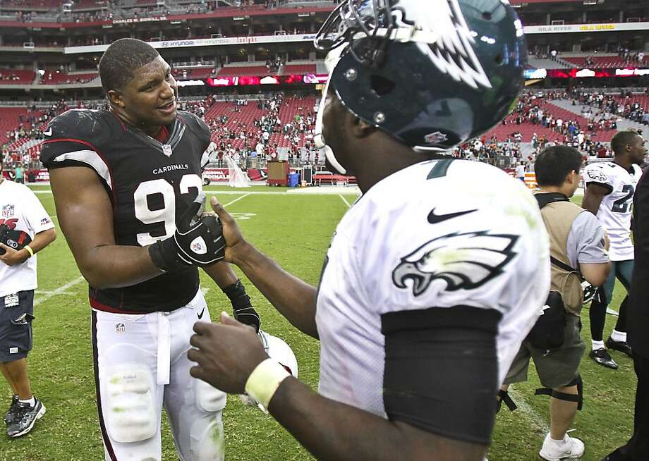 Calais Campbell Photo: Paul Connors, Associated Press