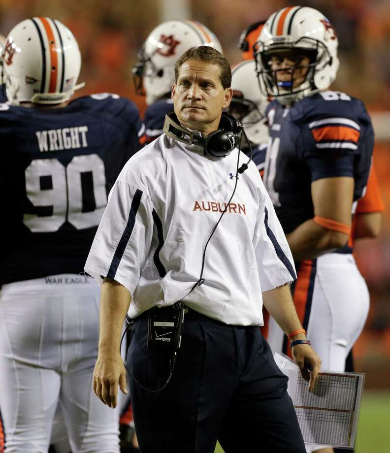 Two years removed from a national championship, Auburn and coach Gene Chizik are reeling. The Tigers are 1-6 overall and 0-5 in the SEC. Photo: Dave Martin, Associated Press / AP