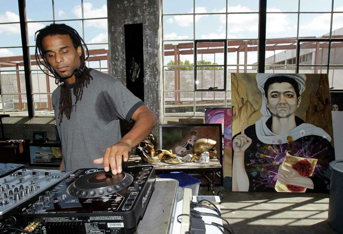 Disc jockey Kent Morrison will perform on Friday at Cueto James Art Gallery for the opening of the show titled