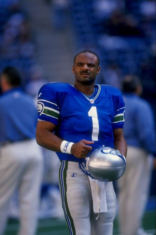 Warren MoonQuarterbackPro Bowls: 1 (1997)Years in Seattle: 1997-1998Also was a Pro Bowler with Houston in 1988-1993, and with Minnesota in 1994 and 1995. Photo: Stephen Dunn, Getty Images / Getty Images North America