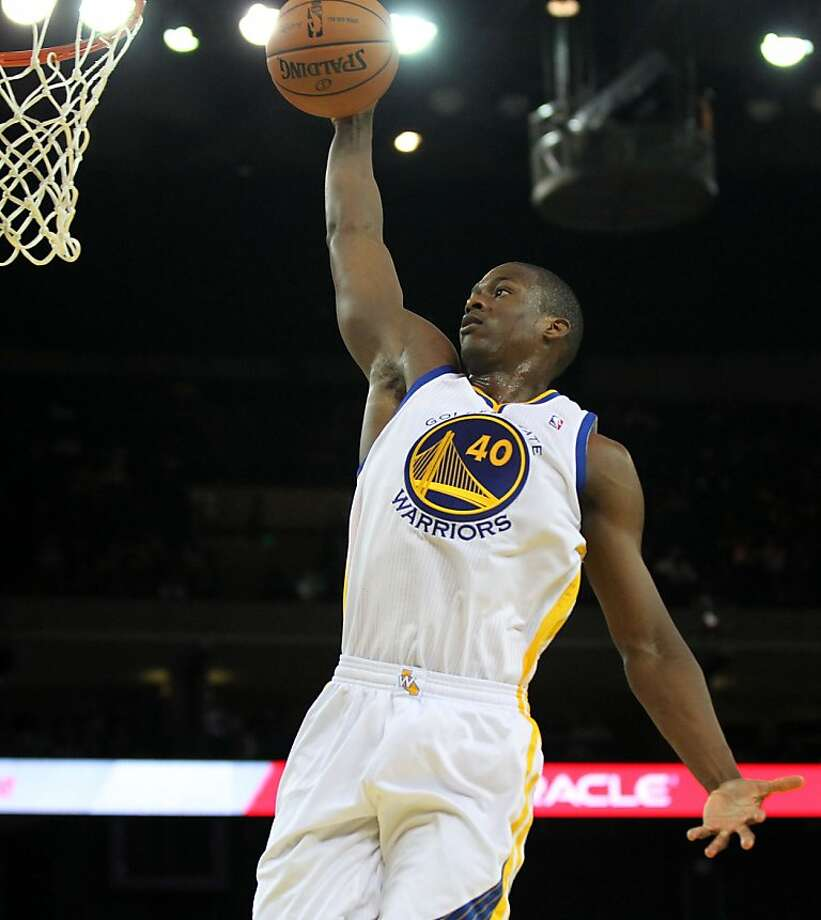 Harrison Barnes will play a key role, whether as a starter or off the bench, coach Mark Jackson says. Photo: Lance Iversen, The Chronicle
