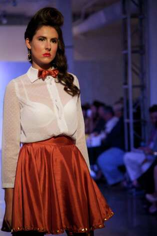 Fashion Week San Antonio's 2012 Emerging Designers show at Blue Star, Oct. 23. Photo: Xelina Flores-Chasnoff