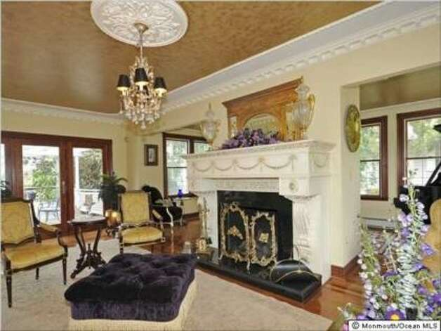Fireplace has been whitewashed since the film (Trulia.com)