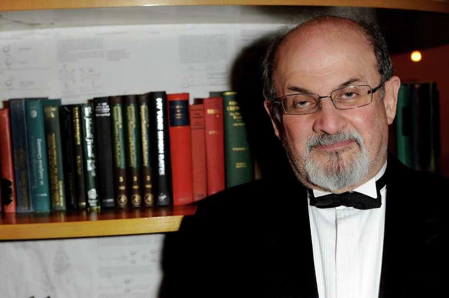 Author Salman Rushdie Photo: Ian Gavan, Getty Images / Getty Images Europe