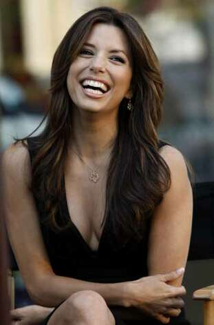 "Eva Longoria (""Desperate Housewives"") grew up near Corpus Christi, famously married and divorced San Antonio Spur Tony Parker and still calls the Alamo City home. Photo: Matt Sayles, AP / AP"