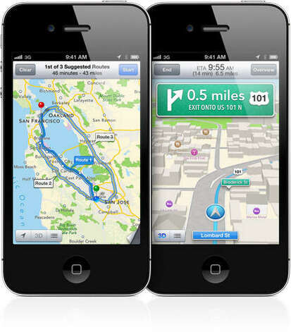 But disappointment set in with the new Apple Maps, which replaced Google