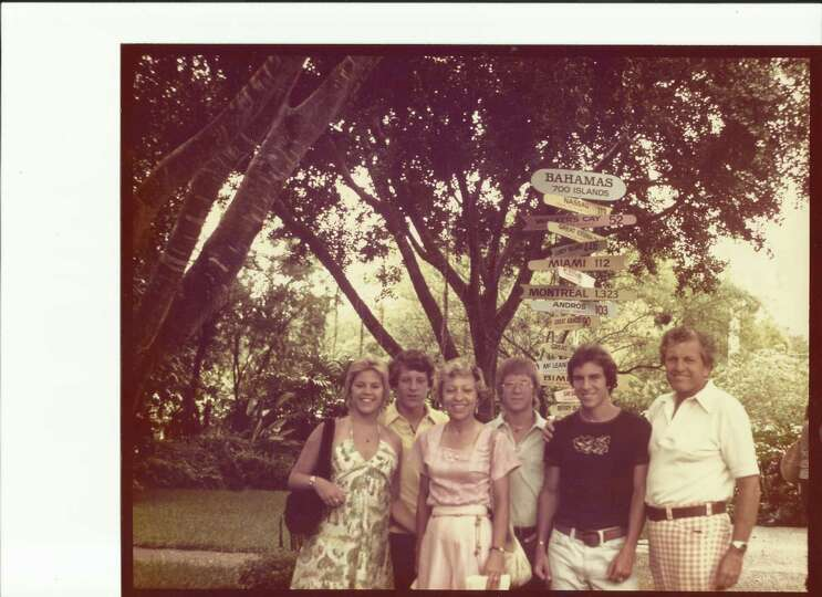The Bahamas photo was taken in 1976, 36 years ago.  It was our final family vacation before the kids