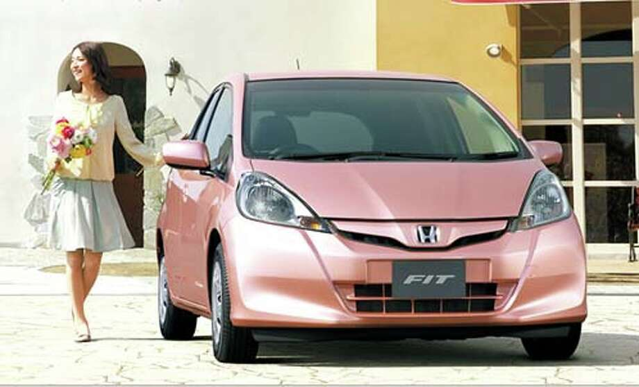 Honda Fit She's model from the outside. Photo: Honda Motor Company