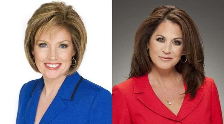 Which 4 p.m. news diva do your prefer: Deborah of KENS or Ursula of KSAT? (KENS/KSAT Graphic: Jakle/Ruediger)