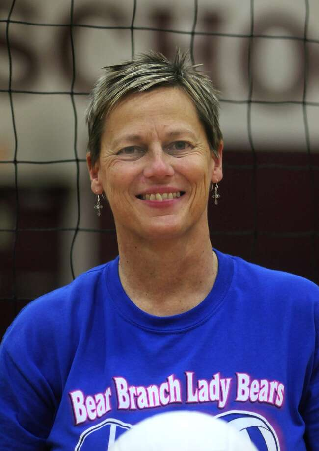 Magnolia Head Volleyball Coach Terri Johnson Photo: Jerry Baker / Greg Krenek