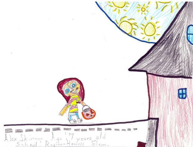 Alex Skinner, 7, Regina-Howell Elementary
