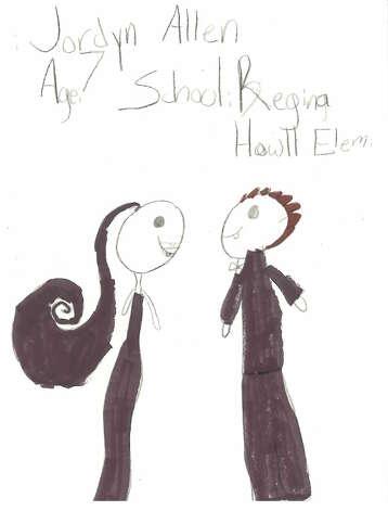 Jordyn Allen, 7, Regina-Howell Elementary
