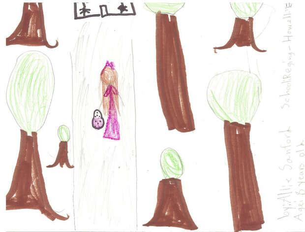 Allie Sandord, 8, Regina-Howell Elementary
