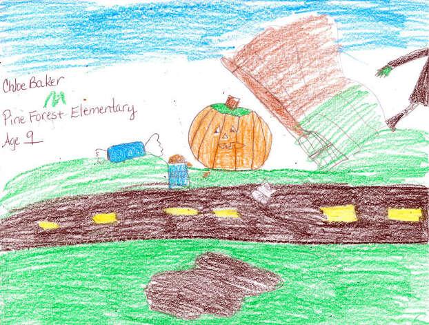 Chloe Baker, 9, Pine Forest Elementary