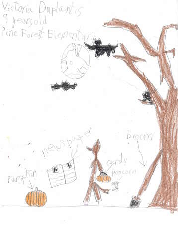 Victoria Duplantis, 9, Pine Forest Elementary
