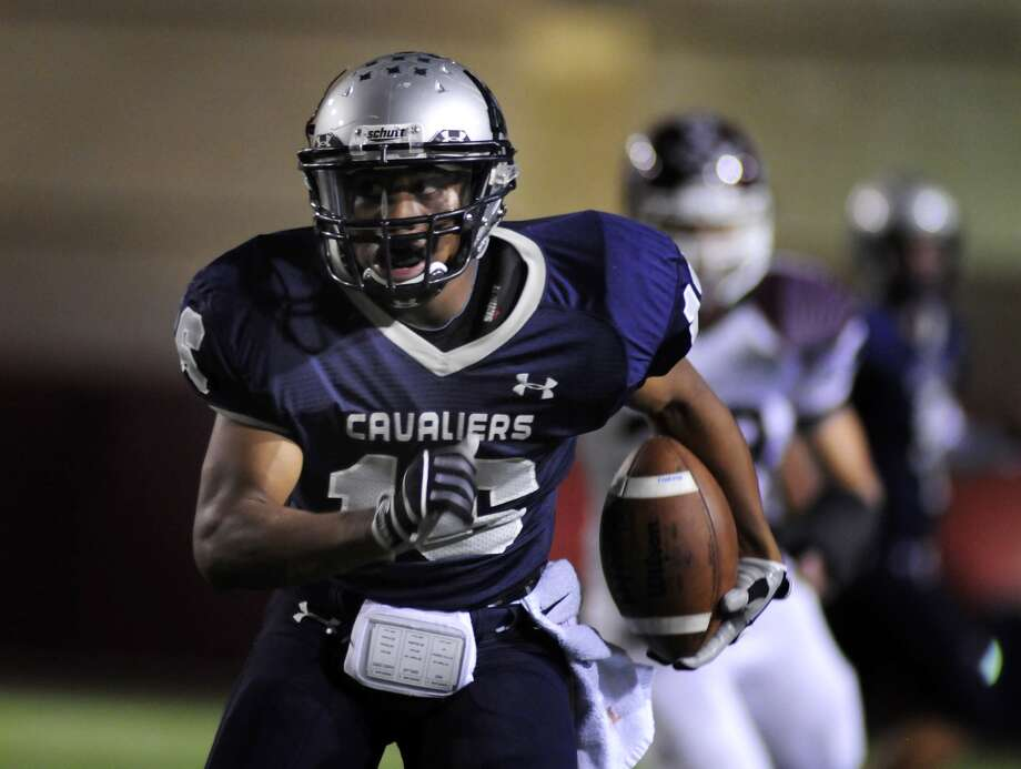 College Park junior running back Nick Black will search for holes in The Woodlands' defense. Photo: Jerry Baker, Freelance / Greg Krenek