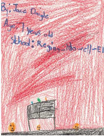 Jace Daigle, 7, Regina-Howell Elementary