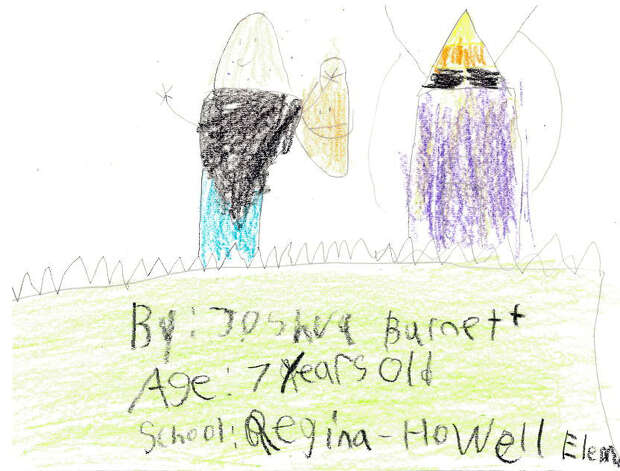 Joshua Burnett, 7, Regina-Howell Elementary