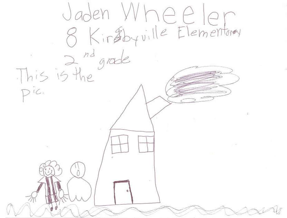 Jaden Wheeler, 8, Kirbyville Elementary