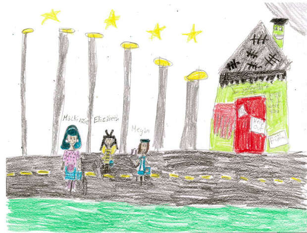 Clare Duplant, 9, St. Anne Catholic School