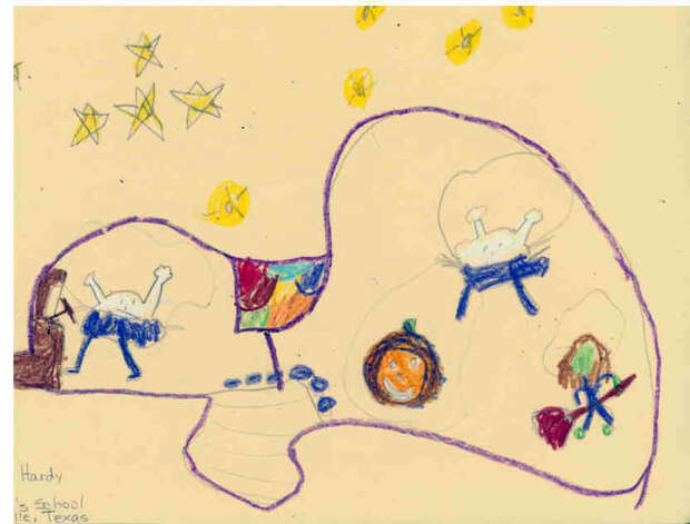 Evelyn Hardy, 6, St. Paul's Episcopal School