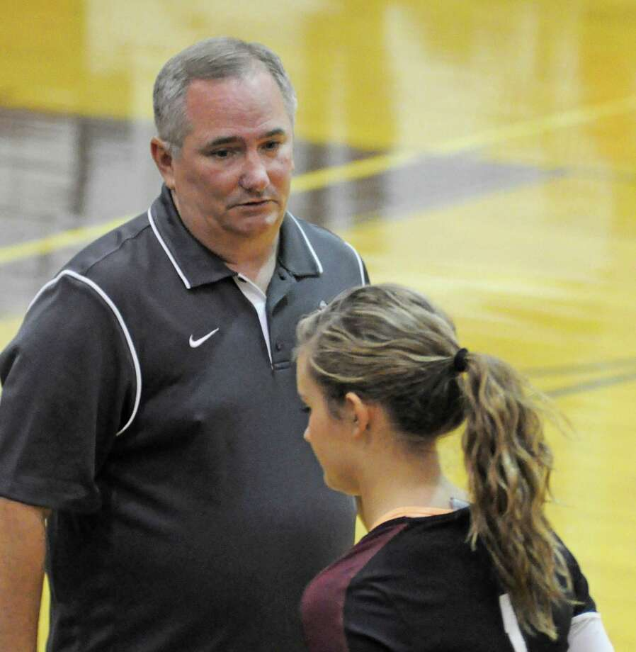 Pearland volleyball head coach John Turner Photo: L. Scott Hainline