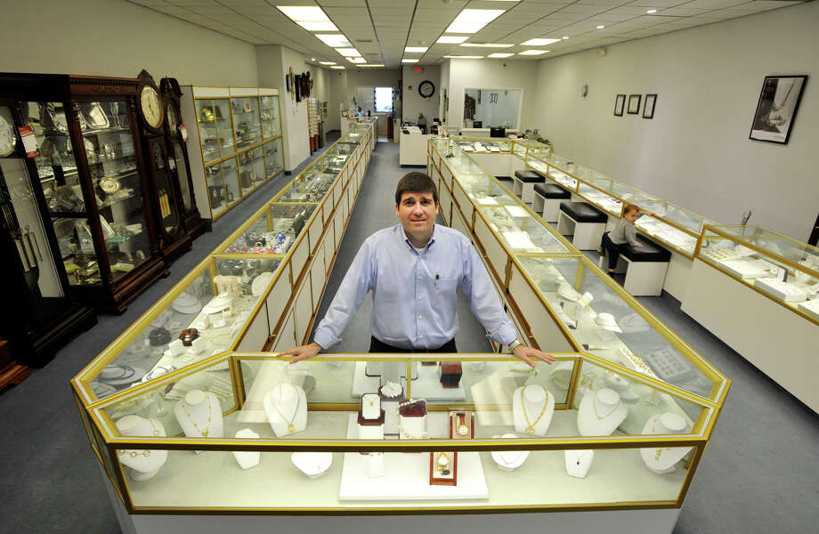 Rui Falcao is part owner, with his father and brother, of Faltom Jewelers on Main Street in Danbury. Photographed on Wednesday, Oct. 24, 2012. Photo: Jason Rearick / The News-Times