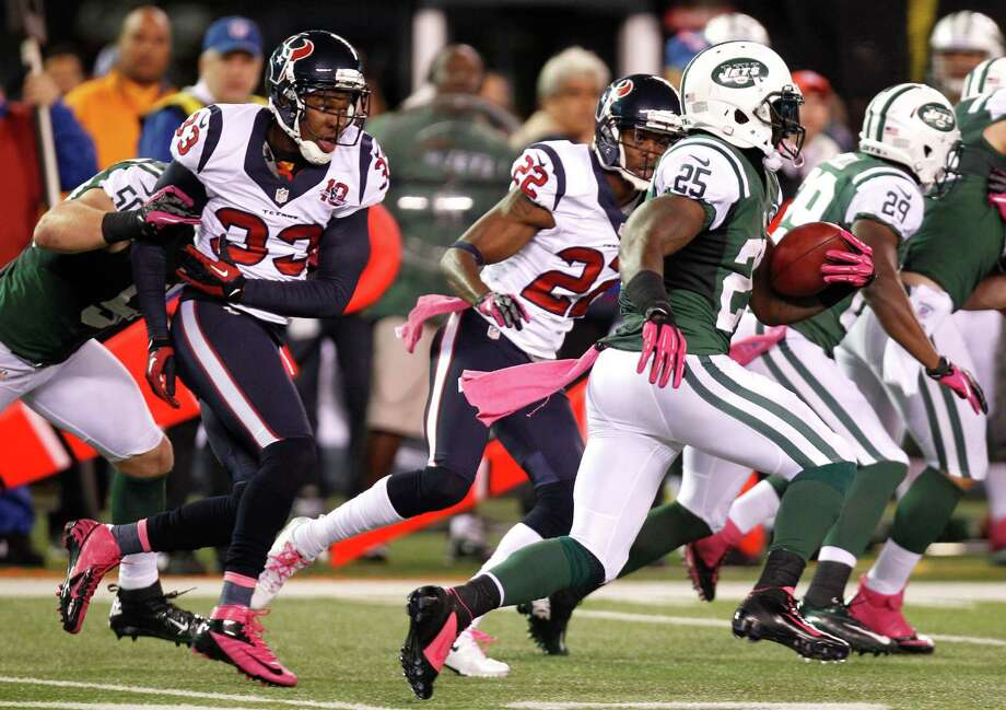 Kickoff coverage has been a sore spot for the Texans, including in an early October game against the Jets. Photo: Brett Coomer, Houston Chronicle / Houston Chronicle