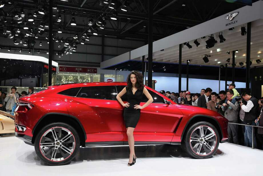 The Lamborghini Urus sport-utility concept vehicle is seen during the 2012 Beijing International Automotive Exhibition at China International Exhibition Center on April 25, 2012 in Beijing. Photo: Feng Li, Getty Images / 2012 Getty Images