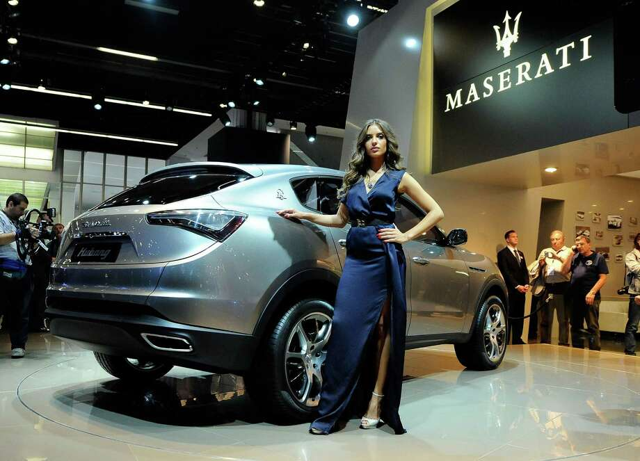 The Maserati Kubang, um, Levante,  is based on a Jeep Grand Cherokee. Fiat is the parent company of Maserati and Jeep parent Chrysler. Photo: Thorsten Wagner, Getty Images / 2011 Getty Images