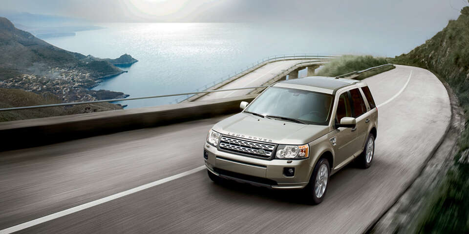 Land Rover's lowest-priced model is the LR2, starting at $36,550.