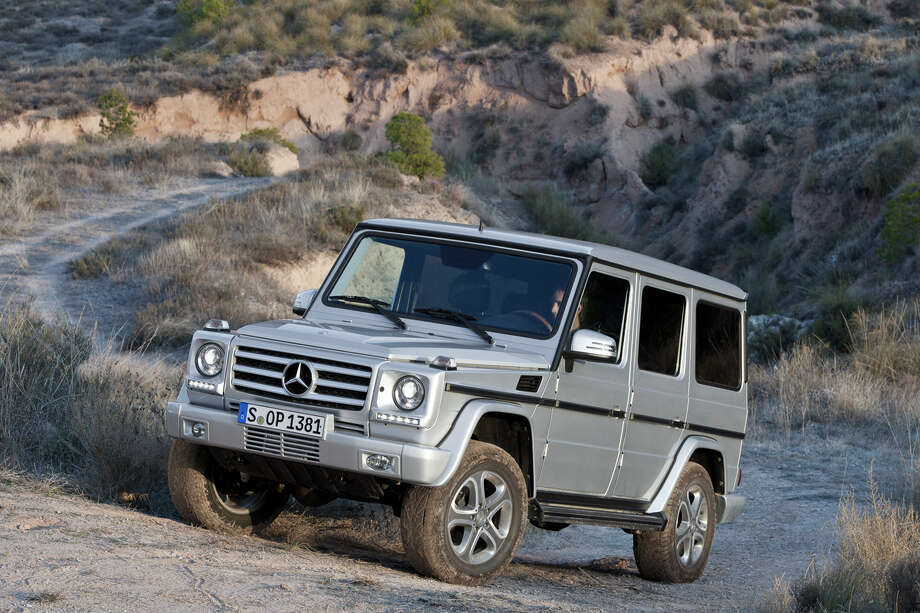 If you really want to spend money, check out the Mercedes-Benz G Class, which starts at $113,000. Photo: Mercedes-Benz, Wieck / © 2012 Mercedes-Benz USA