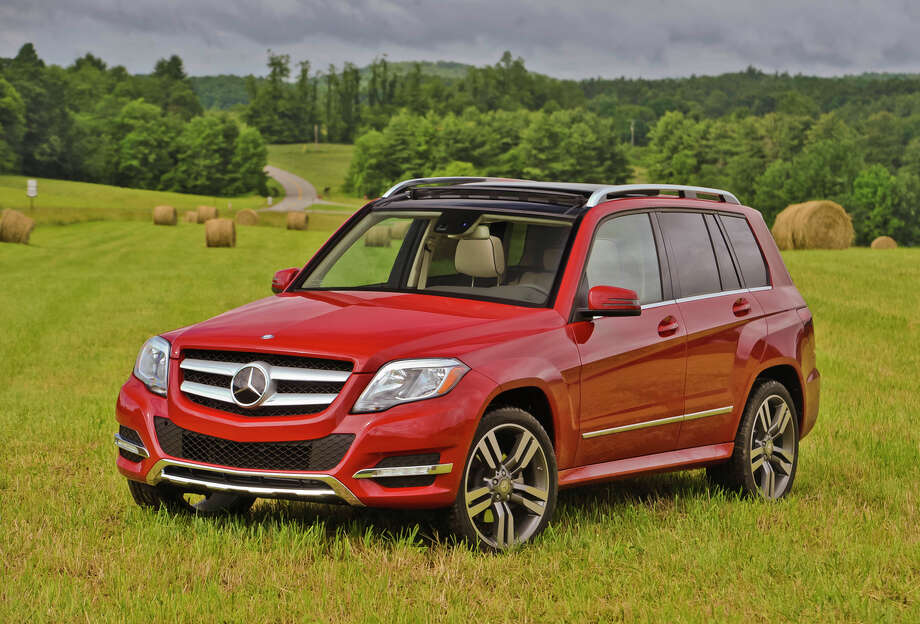 The lowest-priced Mercedes-Benz SUV is the GLK Class, which starts at $37,090. Photo: Mercedes-Benz, Wieck / Copyright 2012