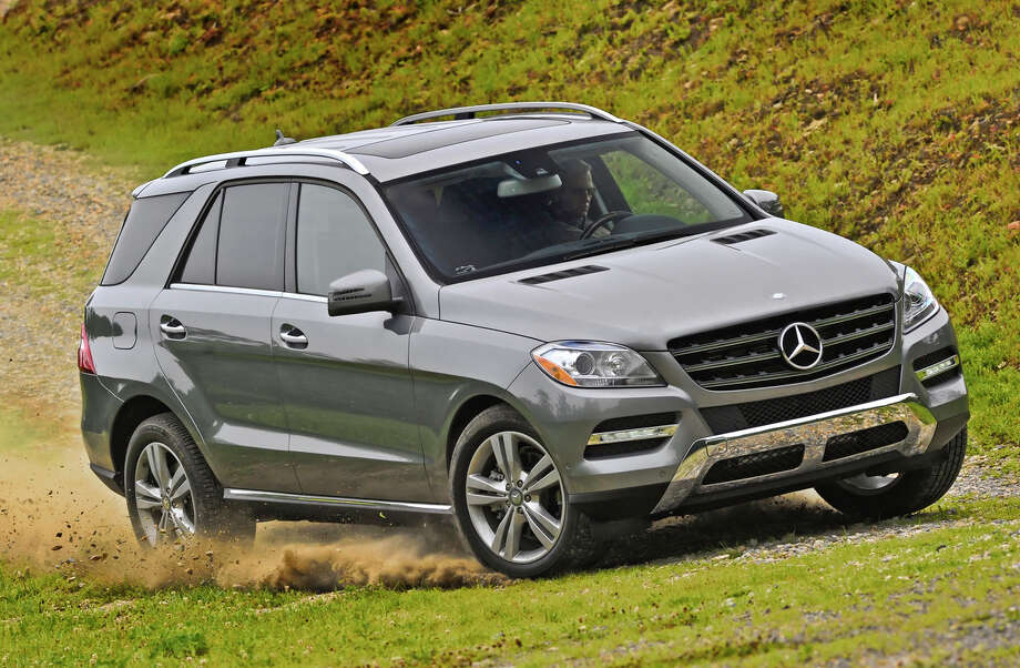 Next comes then Mercedes-Benz M Class, starting at $47,270. Photo: Mercedes-Benz, Wieck / © 2011 Mercedes-Benz USA