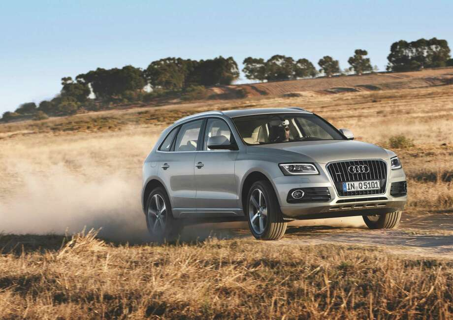 Audi, another Volkswagen subsidiary, also has several high-end SUVs. This is the Q5, which starts at $35,900. Photo: AUDI AG, Abdruck Fuer Pressezwecke Honorarfrei
