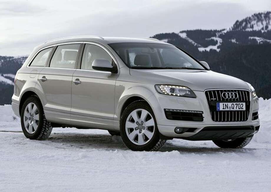 Audi Q7. Starting price: $46,800. Photo: AUDI AG