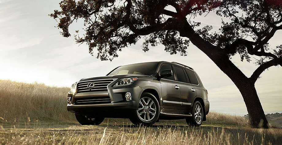 It's quite a jump up to the Lexus LX, which starts at $80,930. Photo: Lexus