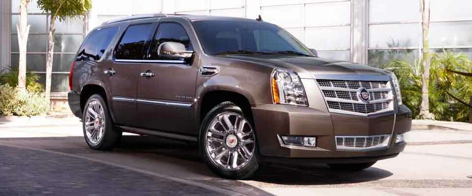 The Cadillac Escalade will set you back at least $63,170. Photo: Cadillac