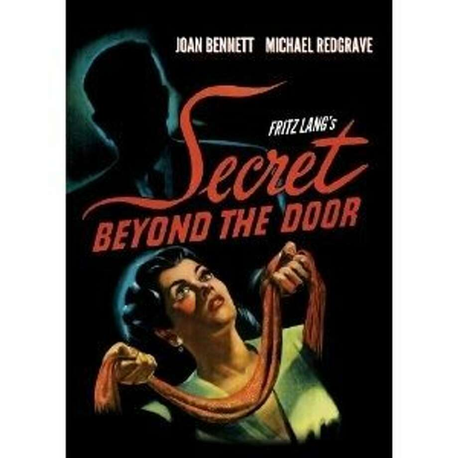 dvd cover SECRET BEYOND THE DOOR Photo: Olive Films