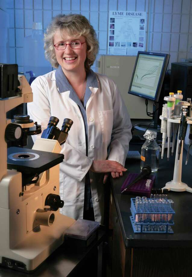 Dr. Eva Sapi, associate professor biology and environmental science at the University of New Haven. Photo: Contributed Photo